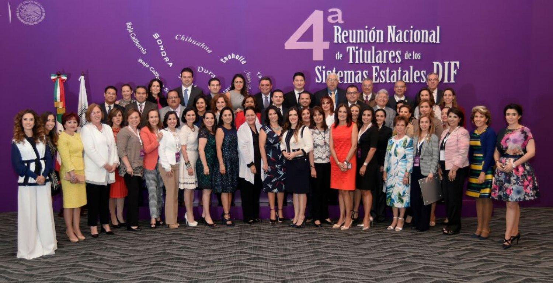 4a Reunión Nacional de Titulares de los Sistemas Estatales DIF 2016