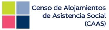 Censo de Alojamientos de Asistencia Social