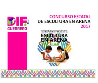 Concurso Estatal de Escultura en Arena 2017