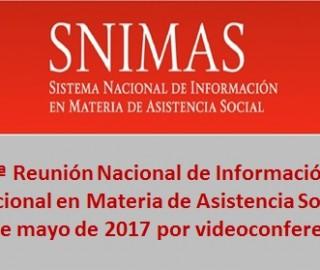 2a Reunión Nacional de Información en Materia de Asistencia Social 2017