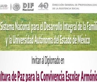 """Diplomado en """"Cultura de la Paz para la Convivencia Escolar Armónica"""""""