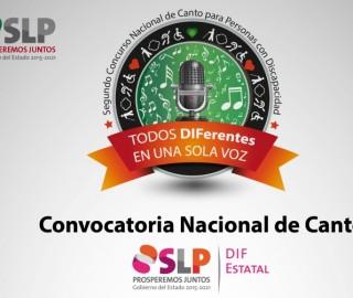 """""""TODOS DIFerentes EN UNA SOLA VOZ"""" Segundo Concurso Nacional de Canto para Personas con Discapacidad"""