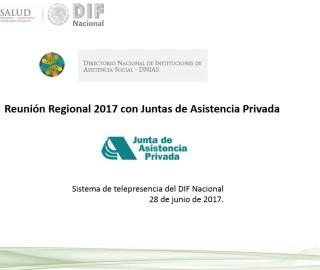Reunión Regional 2017 con Juntas de Asistencia Privada