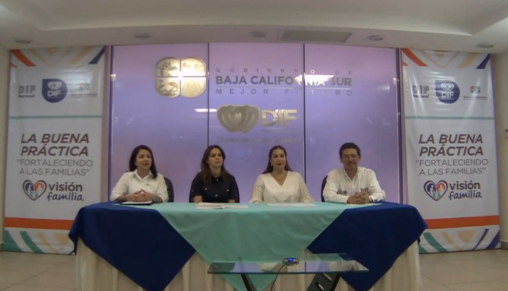 """El DIF Nacional y el DIF Baja California Sur presentaron la buena práctica """"Fortaleciendo a las familias"""""""
