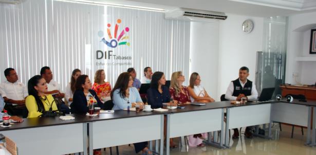 Reunión de asesoría con SMDIF de Tabasco para registro al DNIAS