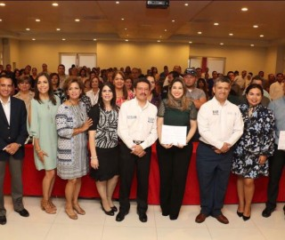 Entrega de Constancias de Registro al DNIAS a Instituciones del estado de Sonora