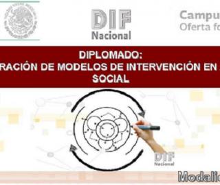 "Diplomado en línea ""Estructuración de Modelos de Intervención en Asistencia Social"""