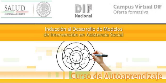 """Curso en línea """"Inducción al desarrollo de modelos de intervención en Asistencia Social"""""""