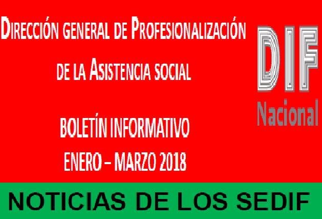 Boletín DGPAS enero/febrero 2018.