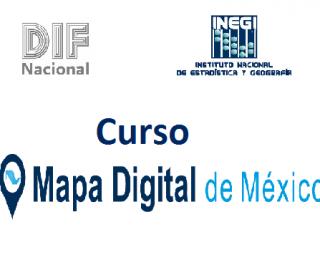 "INEGI impartió curso de ""Mapa Digital de México"" en el DIF Nacional"