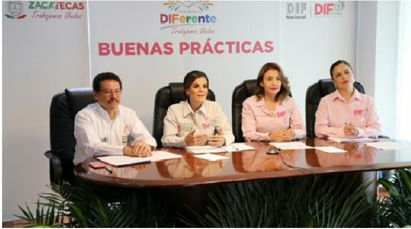 Presenta DIF Nacional a Ferias DIFerentes como práctica exitosa en México