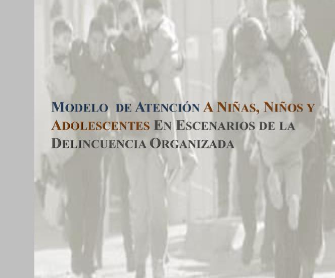 Modelo de Atención a Niñas, Niños y Adolescentes en Escenarios de la Delincuencia Organizada