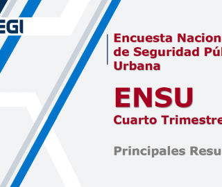 Encuesta Nacional de Seguridad Pública Urbana (ENSU),Cuarto Trimestre 2019: INEGI